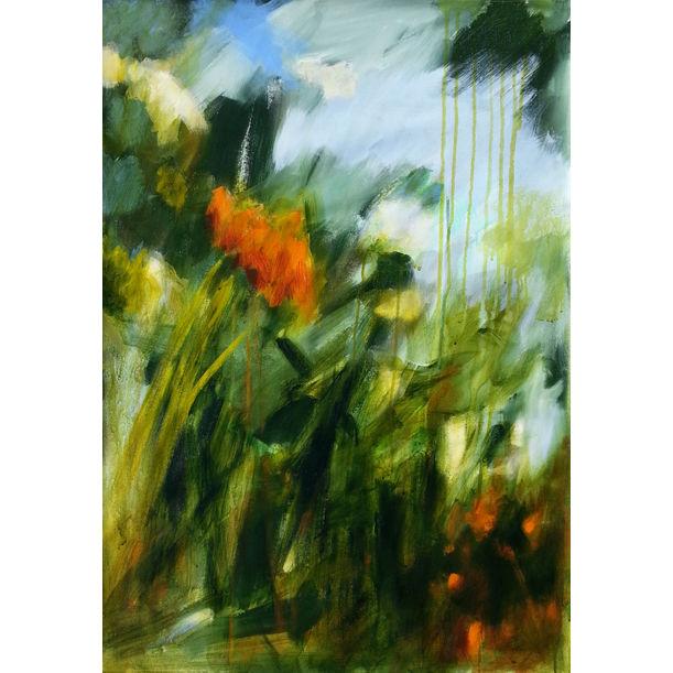 Autumn in the garden by Fabienne Monestier