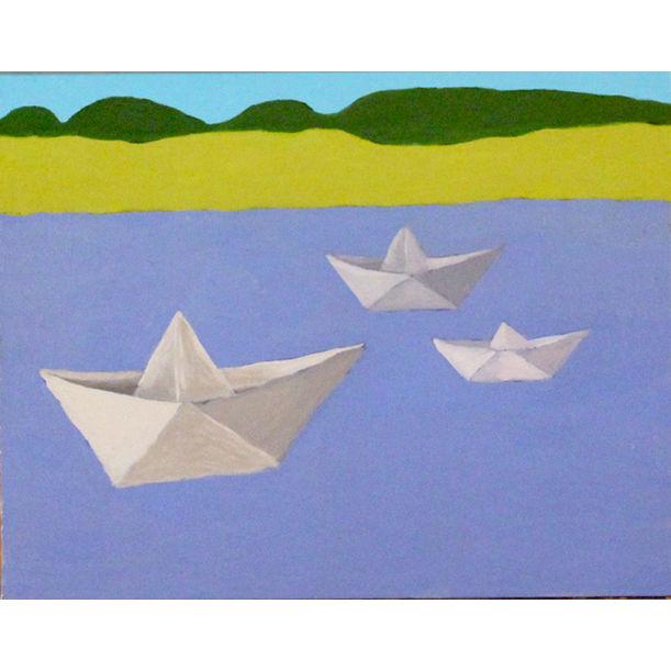 Paper Boat by Ram Patil