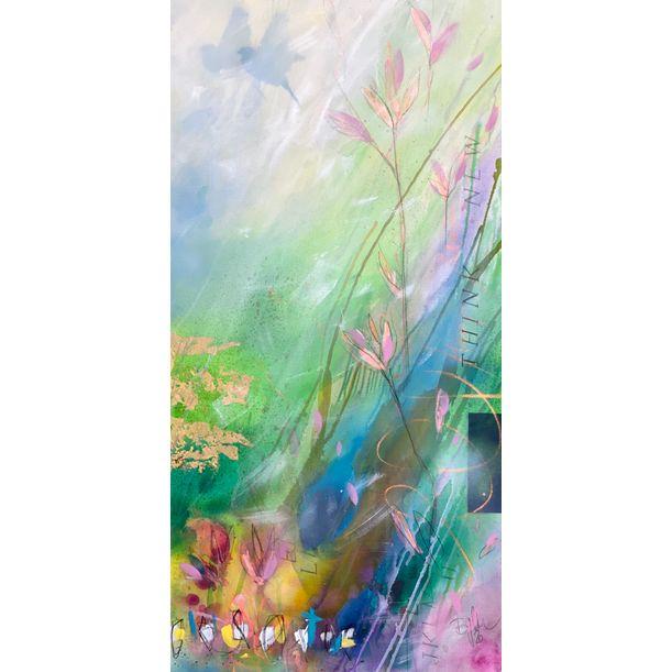Think New II (Garden of Love) by Bea Garding Schubert