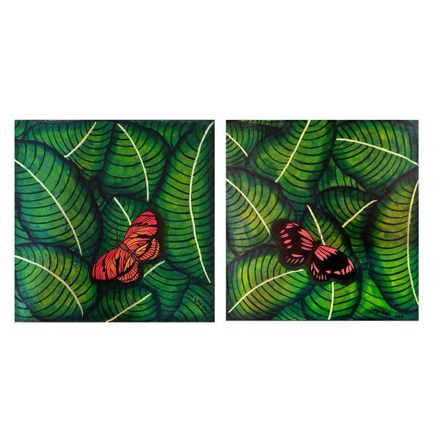 Gift of Nature (DIPTYCH) by Sreya Gupta