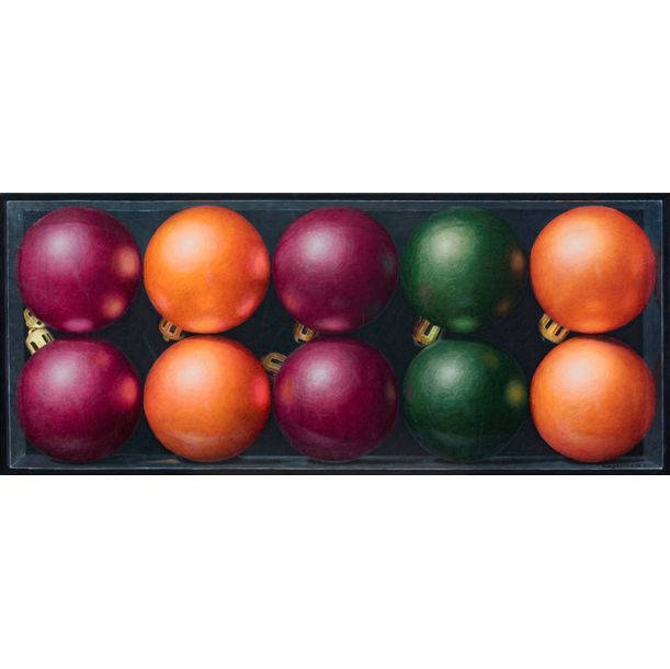Just Christmas Balls... by Nataliya Bagatskaya