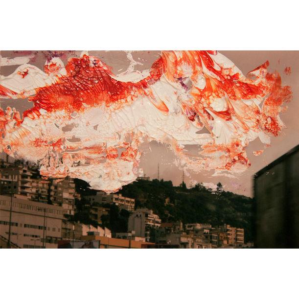 Orange  Sky by Audrée Anid