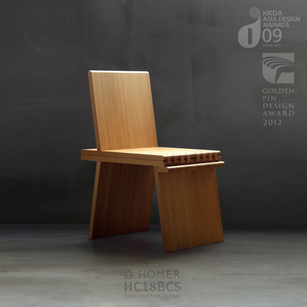 HOMER CONCEPT | Benches Chair by Elvis, Hsiu Ming Chang