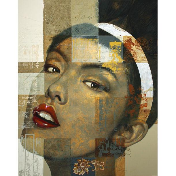 Charming Asian Girl No.2 by Jirasak Plabootong