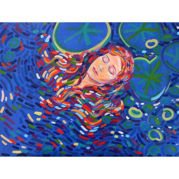 Ophelia by Van Lanigh