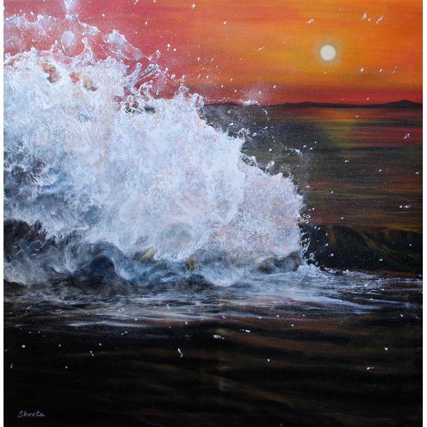 Evening Rush by Shveta Saxena