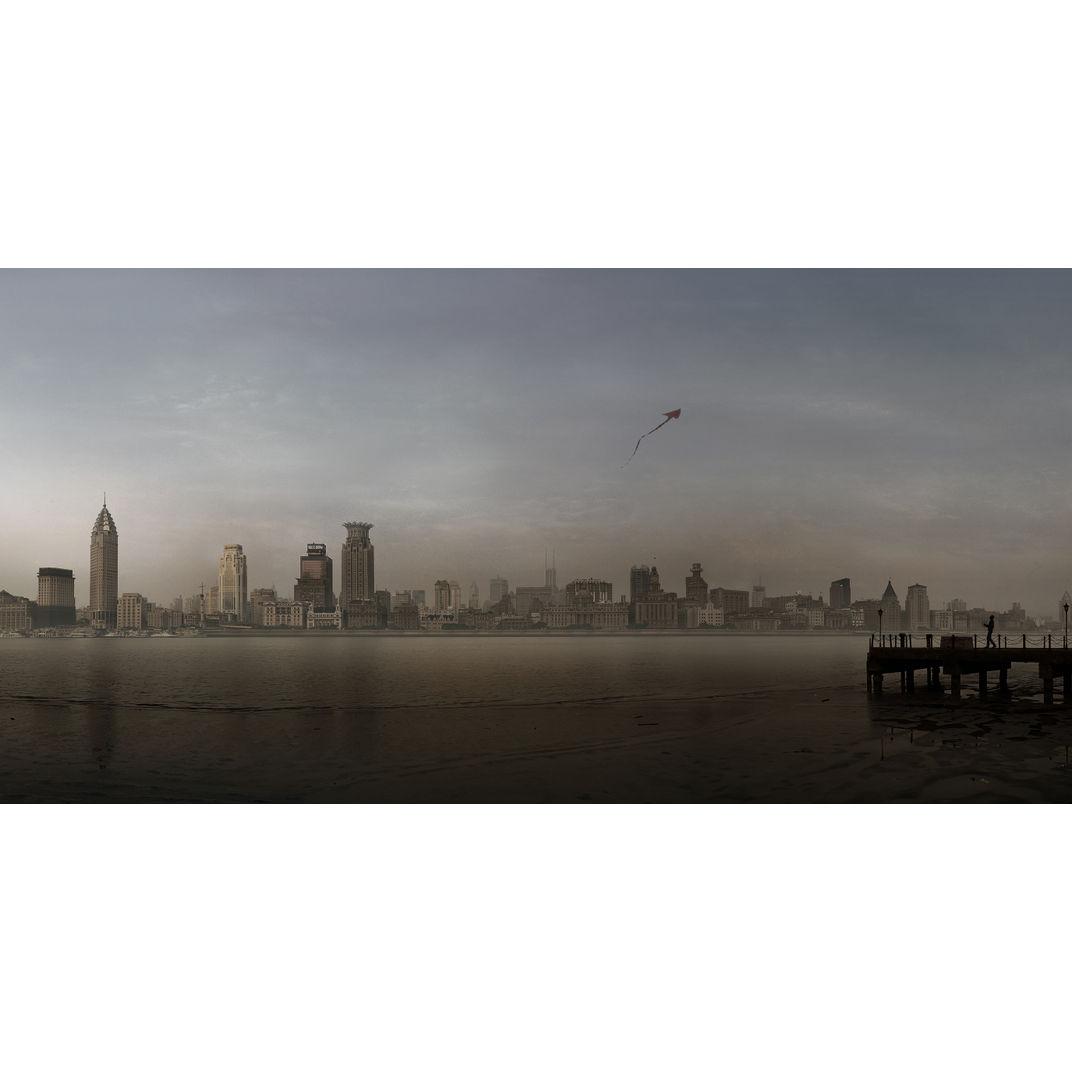 Shanghai Bund by Larcher Zhao