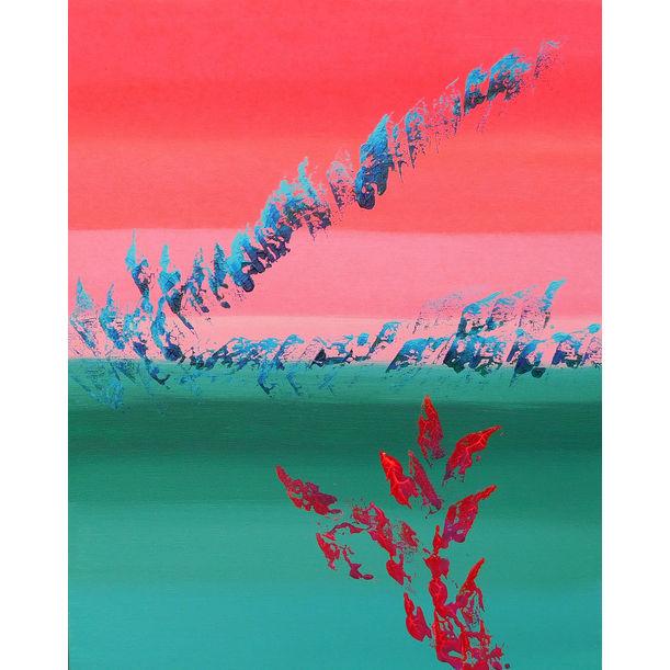 Scarlet & green by Davide De Palma
