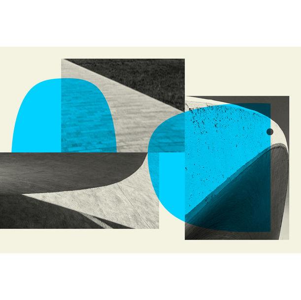 Composition 06/03 (La Colombe) by Marcel Ceuppens