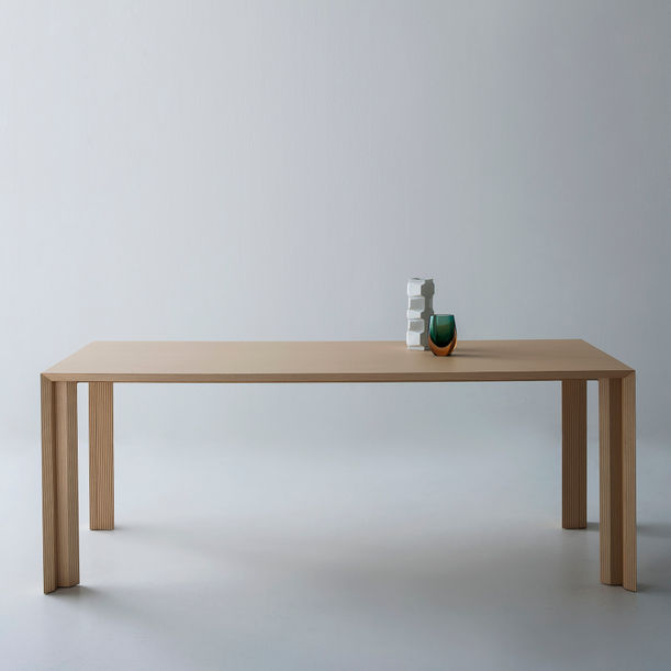 """"""" Striped collection """" dining table by Sebastiano Bottos"""