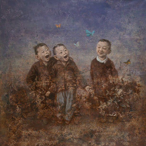 Butterflies by Wang Gang
