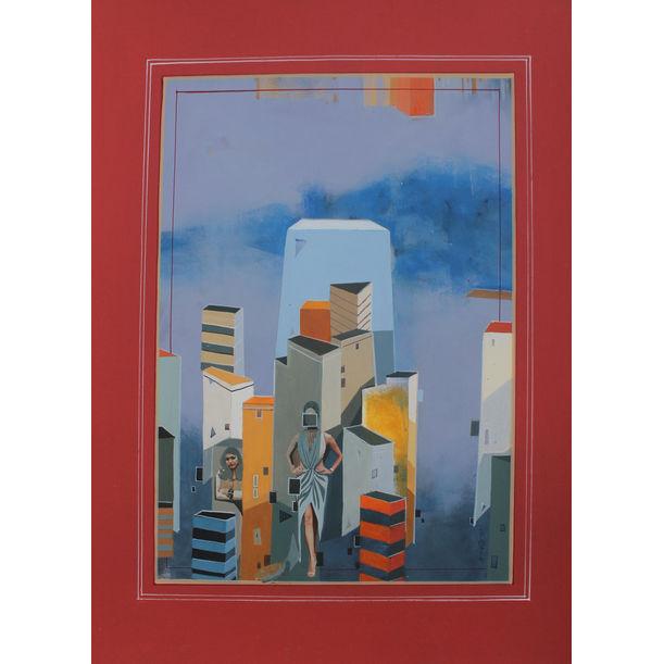 Urban Skyline 3 by Abhijit Paul