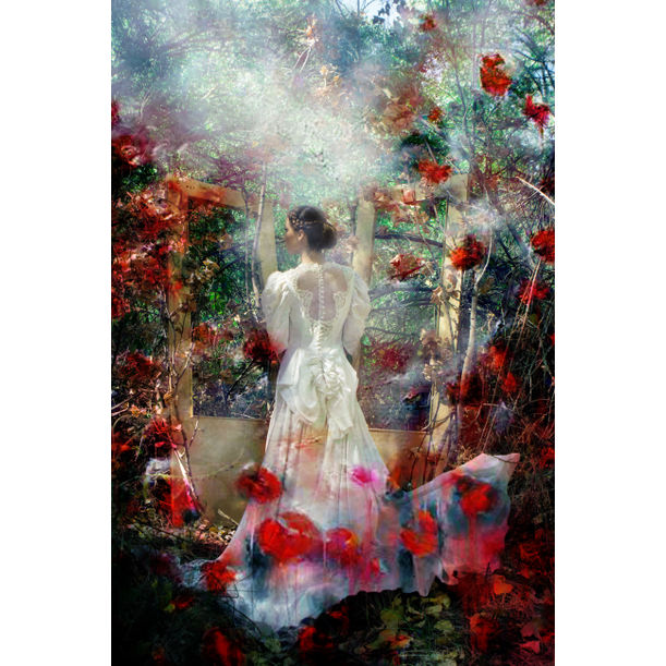 The girl from the impressionist painting by Viet Ha Tran
