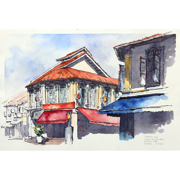 Baghdad Street in Kampong Glam, Singapore by Michael Persch