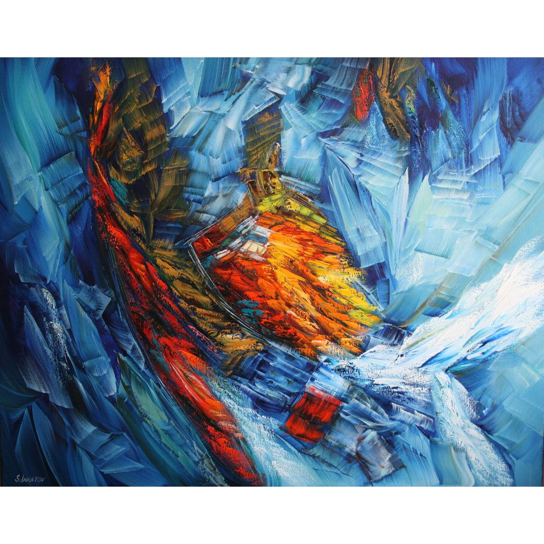 Blue Eternity by Sergei Inkatov