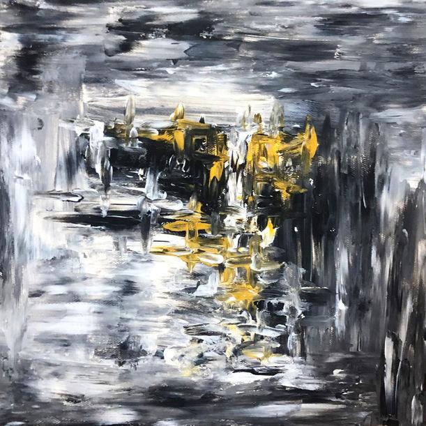 Abstract Piece; Domination by Kiari Isti