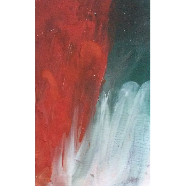 red  abstract by priti biscuitwala