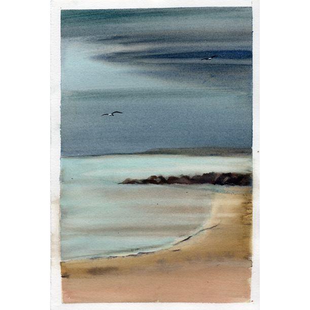 The Beach by Diana Natalie