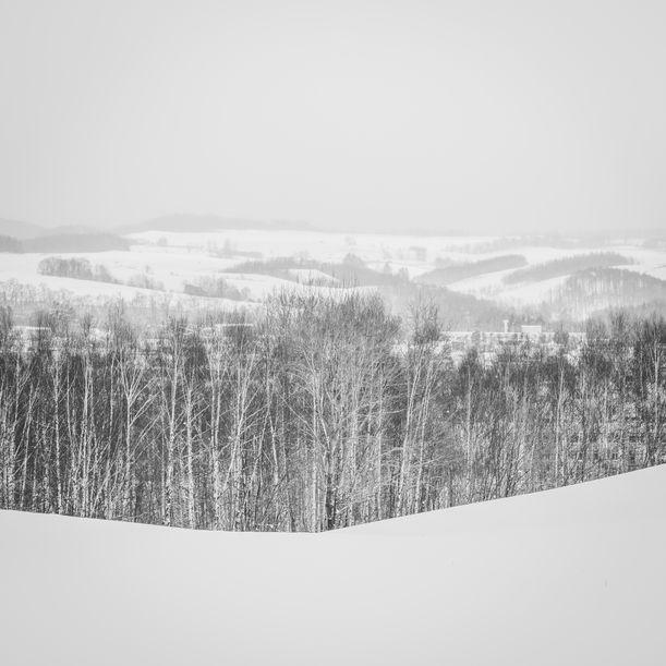 Snow Landscape from Biei 2 by Chinnaphong Mungsiri