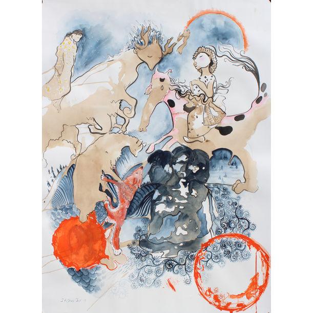 Hakone Dream Child by Julie Shea
