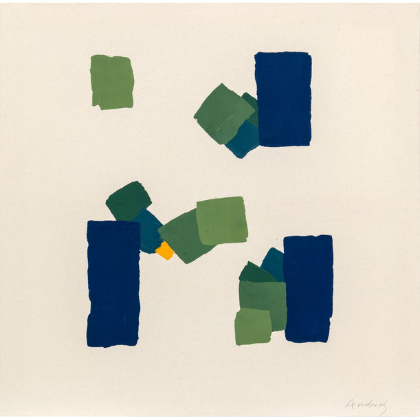 Painting Blocks V by Annabel Andrews