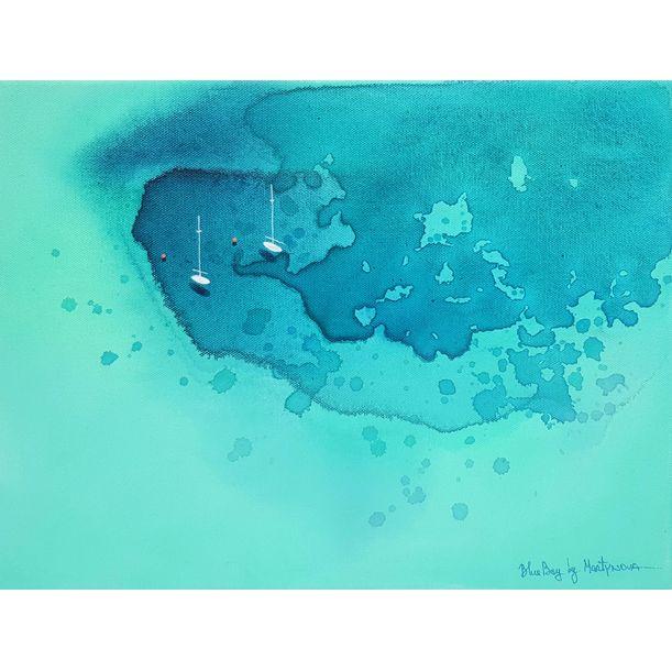 Blue Bay | Seven Mile by Yuliya Martynova