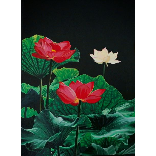 Lotus by Meenu Rajeev
