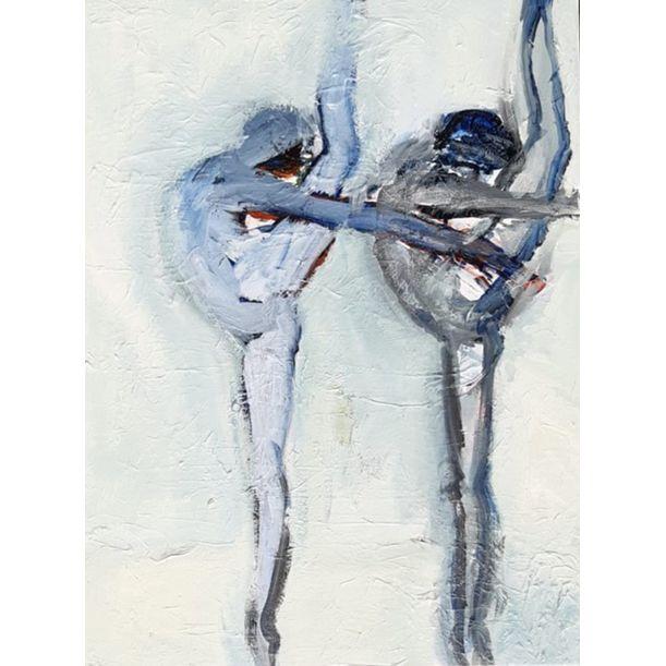 Blue Dancers by Joanna Glazer