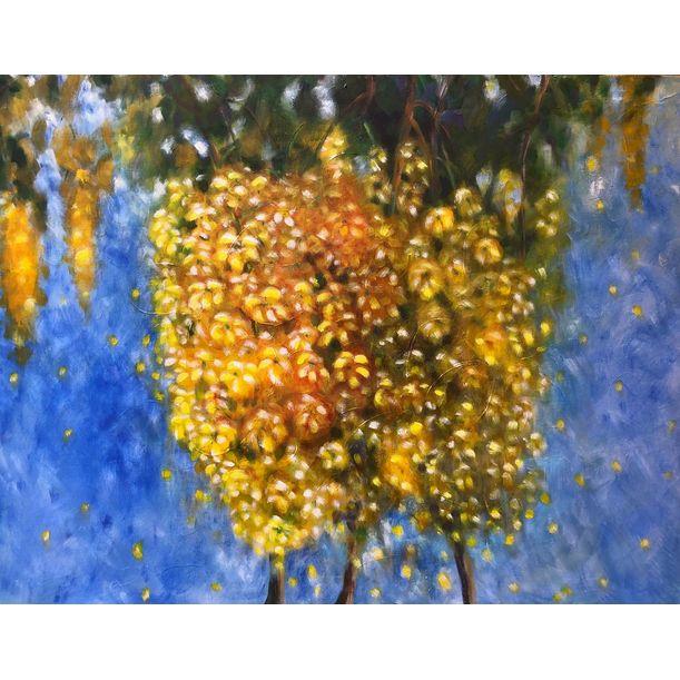 Yellow blooms 2 by Jayashree Bhat