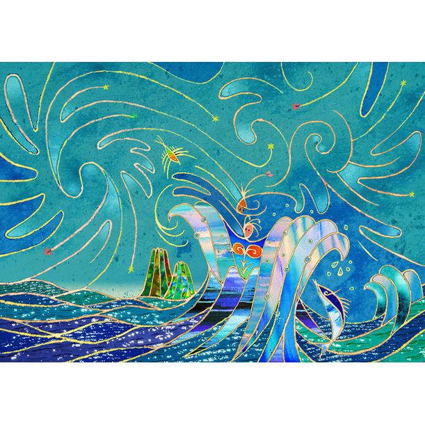ocean goddess by kuniharu shimizu