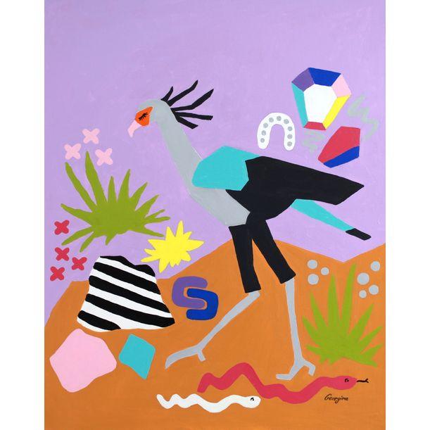 Desert wanderer by Georgina Leow Gray