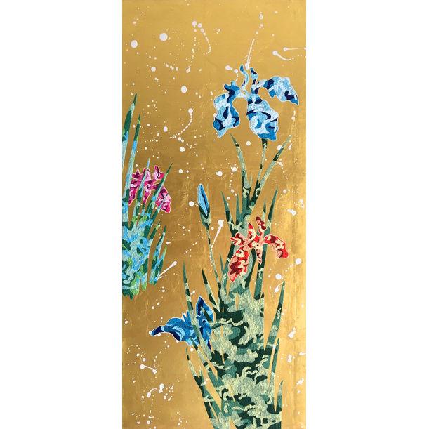 Irises (Blue) by Hisahiro Fukasawa