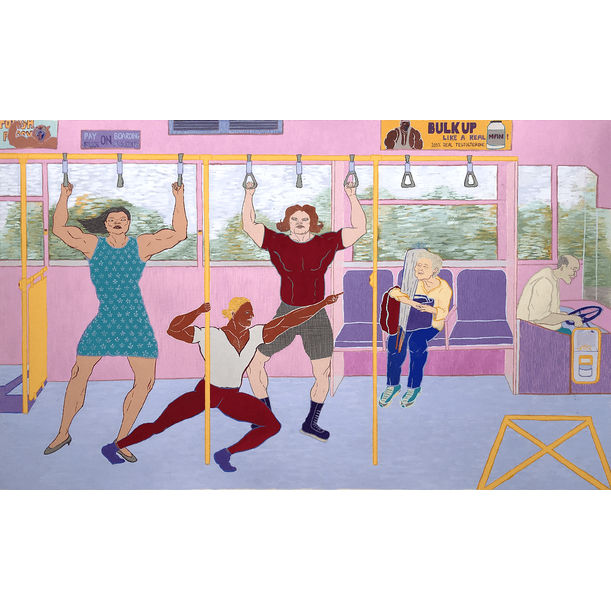 Bus Ride by Jane Stephanny