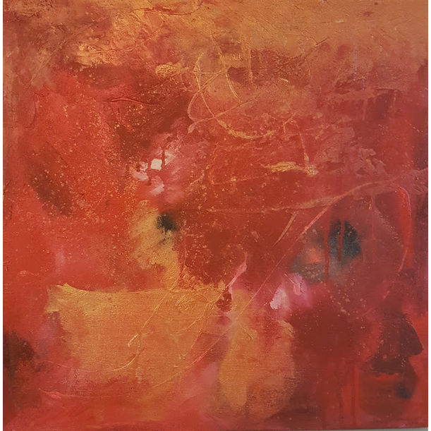 Chaos in Red 1 by Theressa Asis