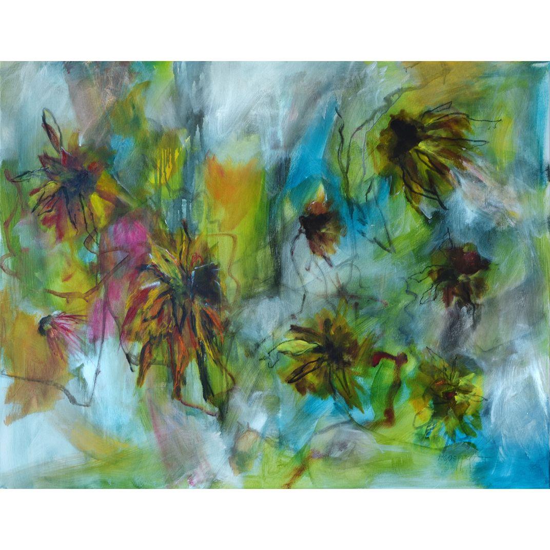 Autumn is Yellow by Karin Goeppert