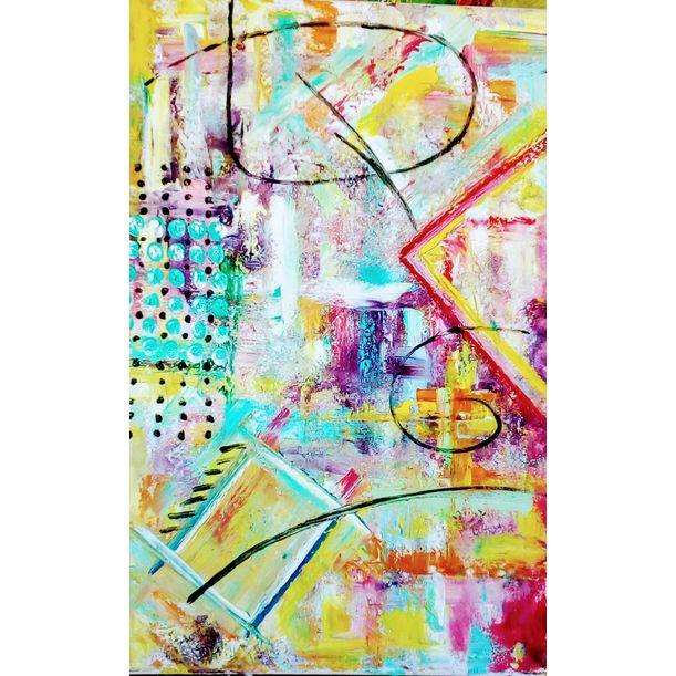Abstraction 2 by Asia Djibirova