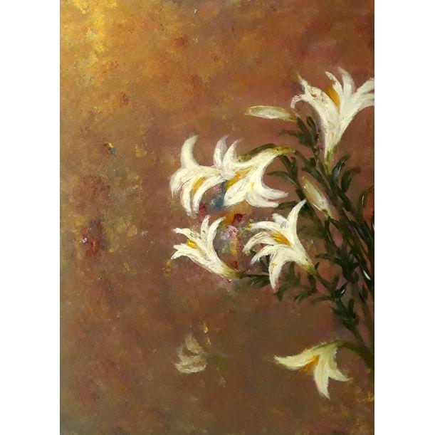 Lily flower by Hong Nga Nguyen