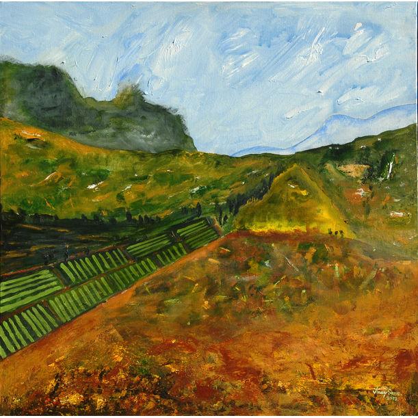 Idyllic Valley by VINAY SANE