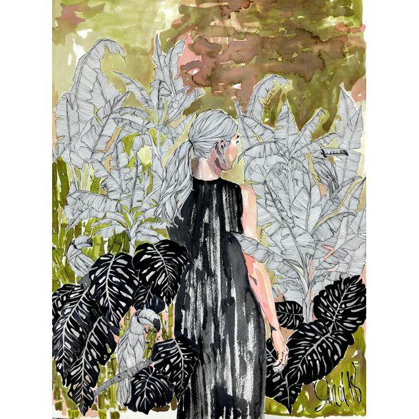 The Gardens Of Splendor No:7 by Erna Ucar