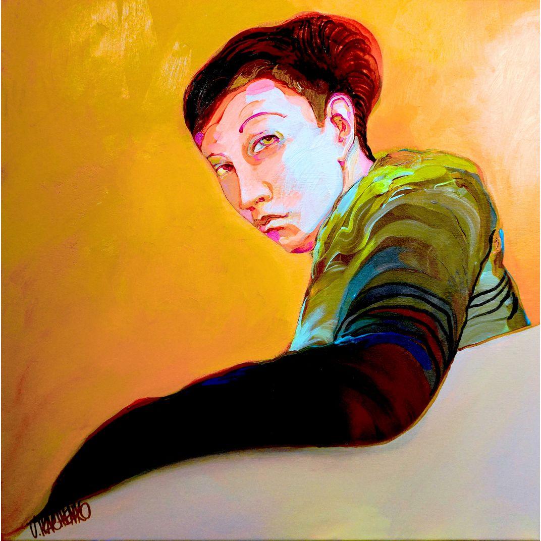 Over the Shoulder by Victor Tkachenko