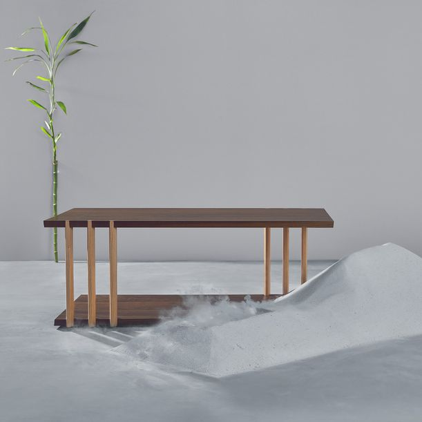 Dovetail Coffee Table by Kaichuan Wang