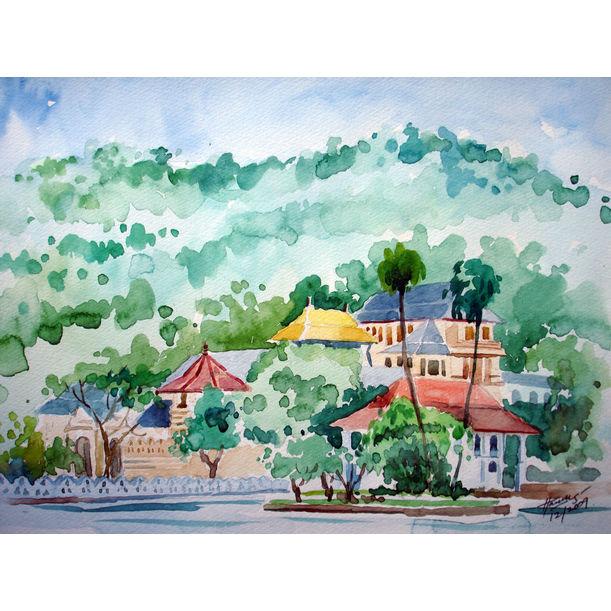 Landscape_Kandy by Harees Hashim