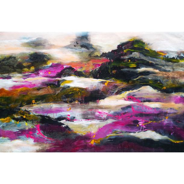 Purple Mountain by Anh Xuan Nguyen
