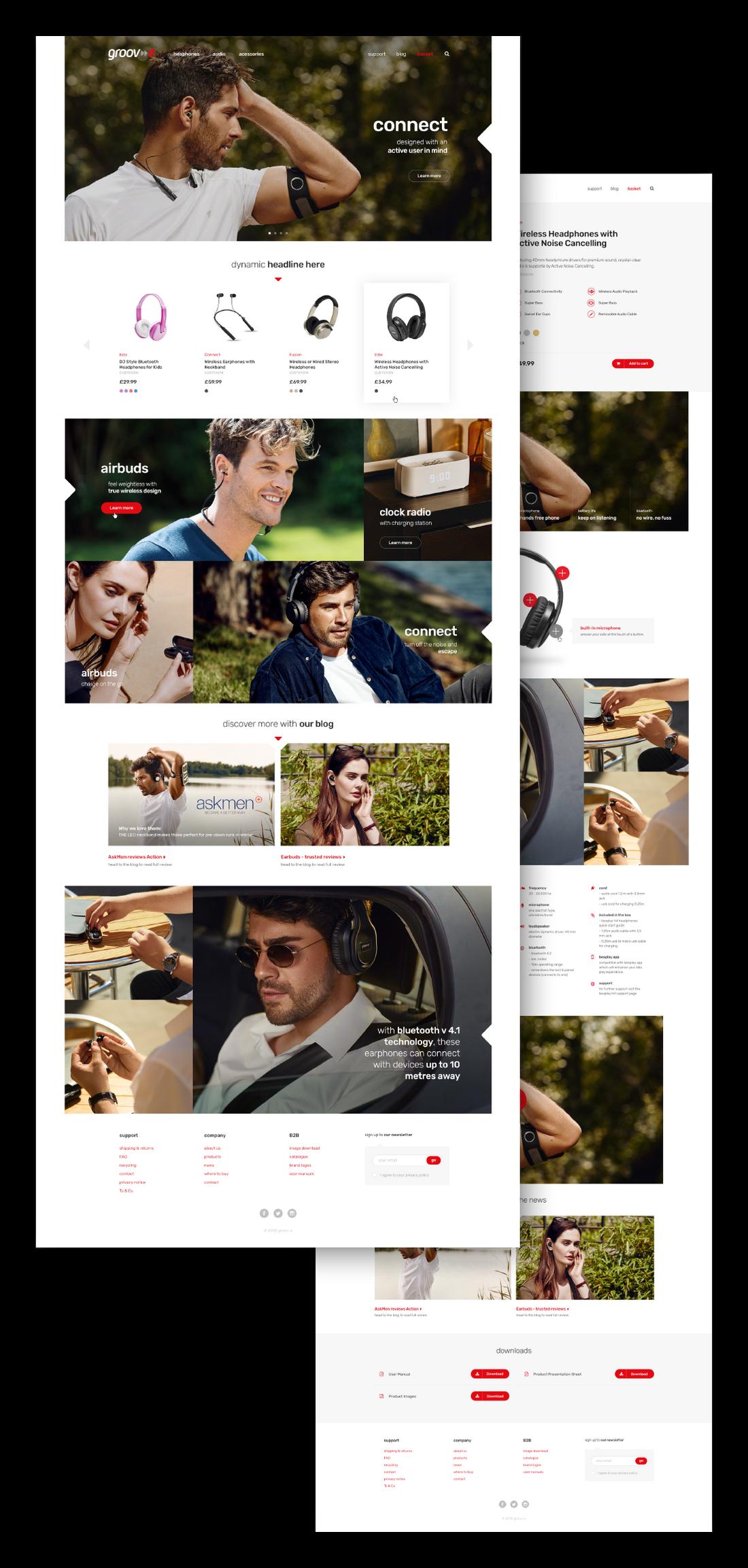 Groov-e Website