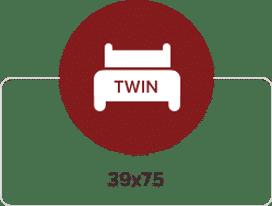 Twin - 39x78