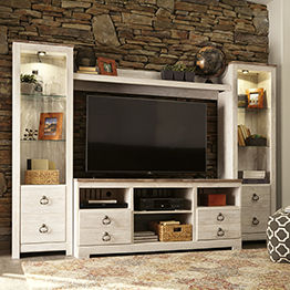Show products in category Entertainment Centers