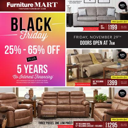 Black Friday Sale The Furniture Mart