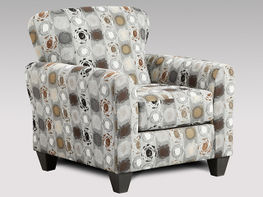 Paint Ball Granite Accent Chair