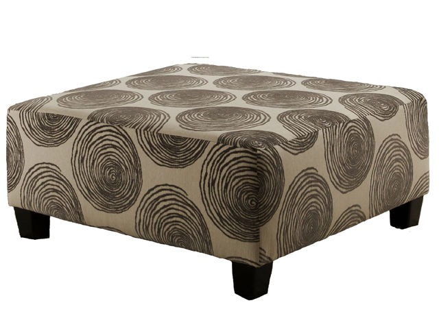 Picture of Big Swirl Smoke Ottoman