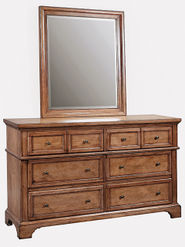 Alder Creek Dresser and Mirror